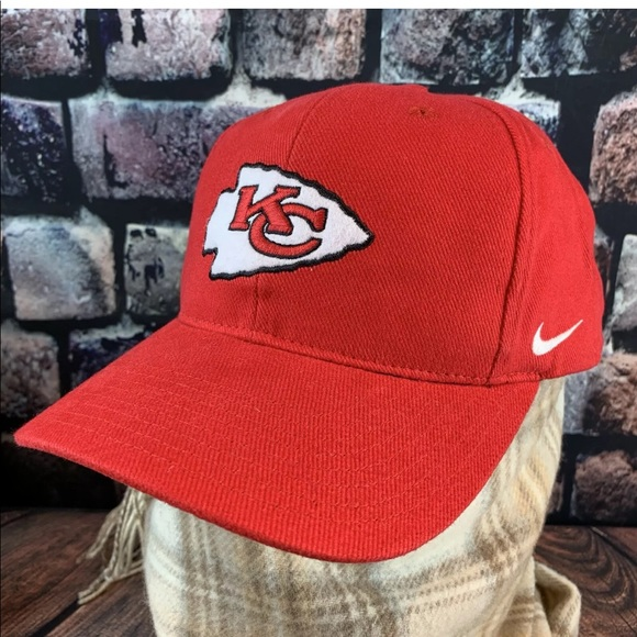 low priced beb13 d1bde Nike Kansas City Chiefs Hat Red NFL Pro Line